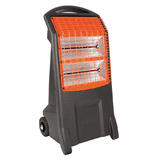 Rhino H029300 TQ3 Thermoquartz Heater (Black and Orange) 110V