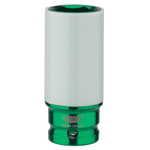 "Draper 83033 1/2"" Sq. Dr. HI-TORQ® Wheel Nut Socket for Alloy Wheels (23mm) Thumbnail 1"