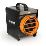 Rhino FH3 Fan Heater H02075 Unique Fin Heating Element 110V