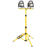 Draper 66058 Twin COB LED Worklamp With Tripod 110V 20W