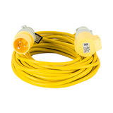 Defender E85240 14m Extension Lead 32A 4mm Cable 110V