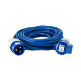 Defender E85237 14m Extension Lead 2.5mm Blue Cable 32A 240V