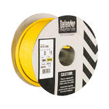 Defender E87115 1.5mm 100m 3 Core Yellow Cable Drum 110v