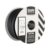 Defender E87445 50m 2.5mm Black H07 RN-F 3 Core Cable 110/240V