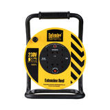 Defender E86515 50m 1.25mm Industriial Cable Reel 240V 4x13A Outlets