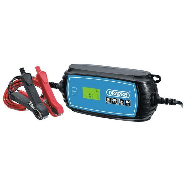 Draper 70545 6V/12V Battery Charger Thumbnail 1