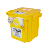 Sealey WST5000 5kva Portable Transformer 2x16A 1x32A Outlets 110V