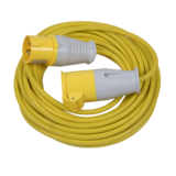 Sealey EL15110 14m Extension Lead 1.5mm Yellow Cable 16A 110V