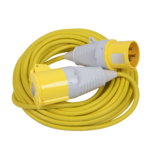 Sealey EL25110/32 14m Extension Lead 2.5mm Yellow Cable 32A 110V