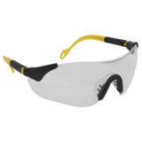 Sealey 9208 Sports Style Clear Safety Glasses with Adjustable Arms