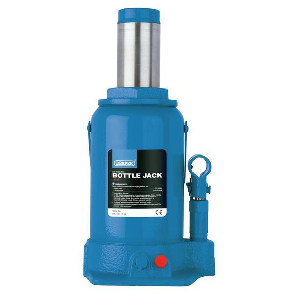 Draper 13105 Hydraulic Bottle Jack 50 Tonne Car Van Lorry Jack Thumbnail 1