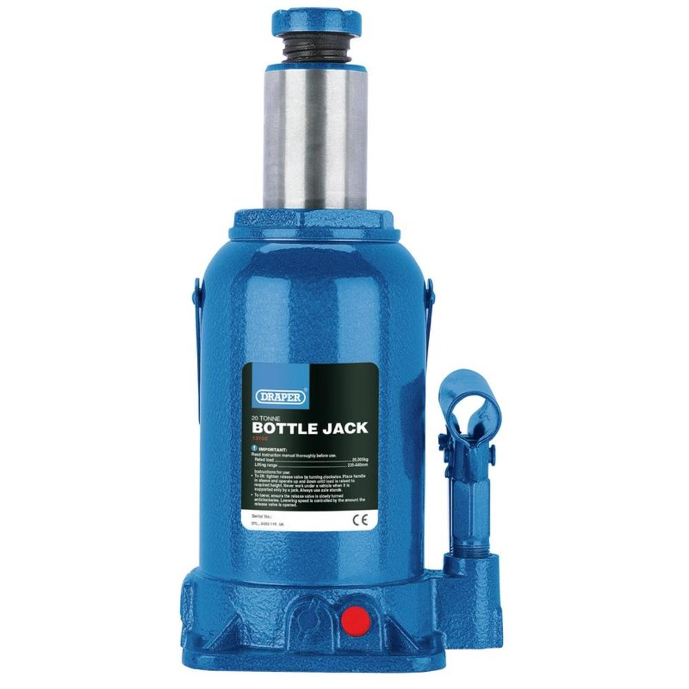 Draper 13103 Hydraulic Botle Jack 20 Tonne Car Van Lorry Jack