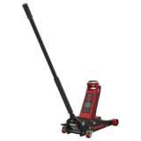 Sealey 2501LE Trolley Jack 2.5tonne Low Entry with Rocket Lift