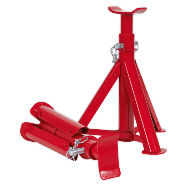 Sealey 1020LEBAGCOMBO Trolley Jack 2tonne - Red and Accessories Bag Thumbnail 5