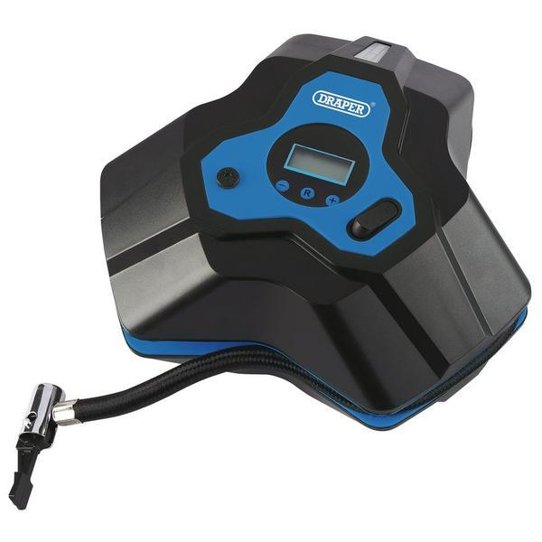 Draper 92667 12V Mini Digital Air Compressor (250psi) Thumbnail 1