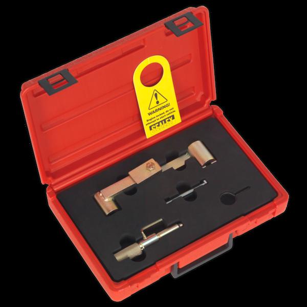 Sealey VS4387 Petrol Engine Timing Tool Kit Ford Volvo 1.6 1.8 2.0 2.3 2.4 2.5  Thumbnail 1