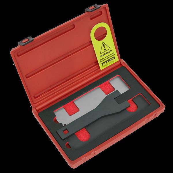 Sealey VSE5067 Petrol Engine Timing Tool Kit Vauxhall/Opel 1.0/1.4 Chain Drive Thumbnail 1