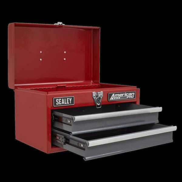 Sealey AP2602BB Toolbox 2 Drawer with Ball Bearing Slides Thumbnail 3