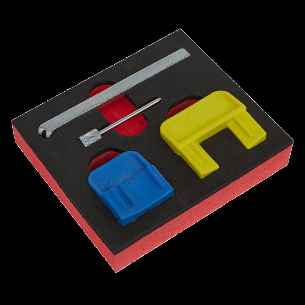 Sealey VS4620 Petrol Engine Timing Tool Kit GM EcoTec/FLEX 1.4-2.2  Belt Drive