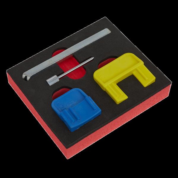 Sealey VS4620 Petrol Engine Timing Tool Kit GM EcoTec/FLEX 1.4-2.2  Belt Drive Thumbnail 1