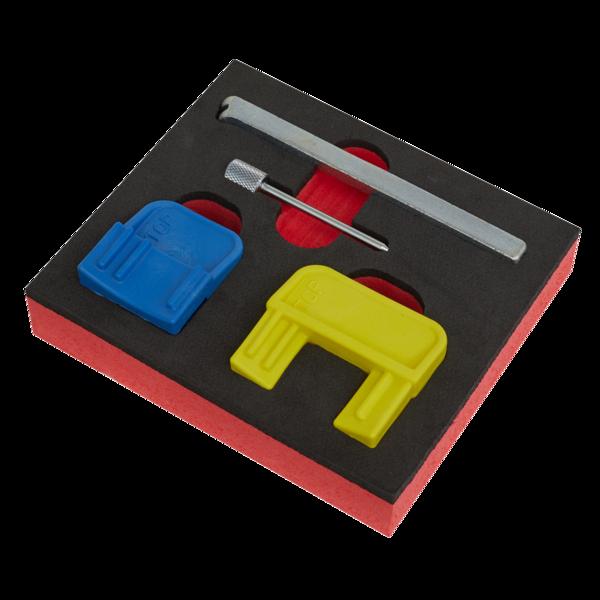 Sealey VS4620 Petrol Engine Timing Tool Kit GM EcoTec/FLEX 1.4-2.2  Belt Drive Thumbnail 2