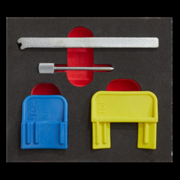 Sealey VS4620 Petrol Engine Timing Tool Kit GM EcoTec/FLEX 1.4-2.2  Belt Drive Thumbnail 3