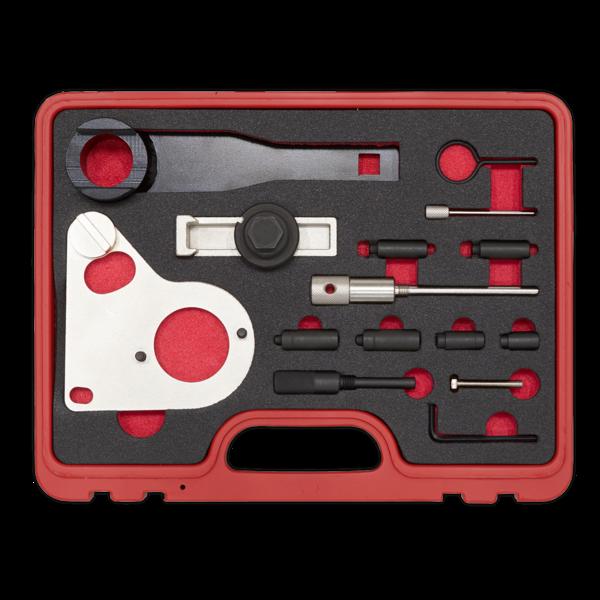 Sealey VSE5086A Diesel Engine Timing Tool Kit Renault Mercedes Nissan GM 1.6 2.0 Thumbnail 3