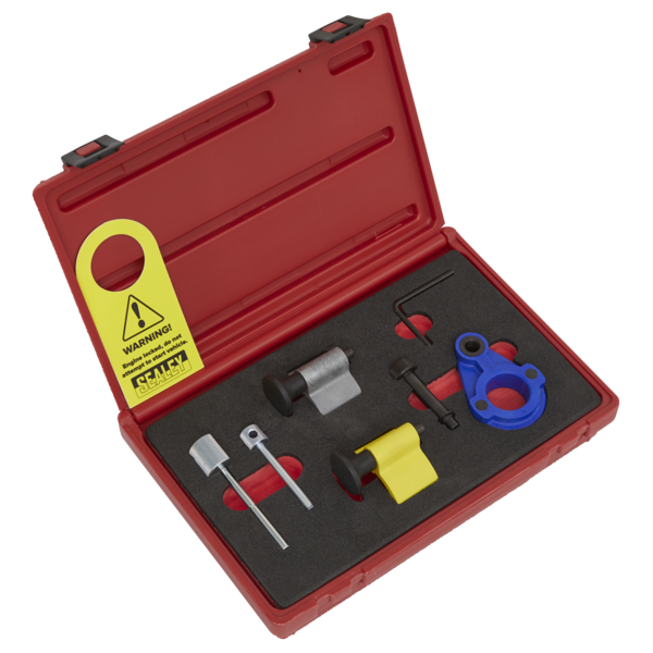 Sealey VSE2092 Diesel Engine Timing Tool Kit 1.2 1.4 1.6 2.0 VAG Ford Mitsubushi Thumbnail 1