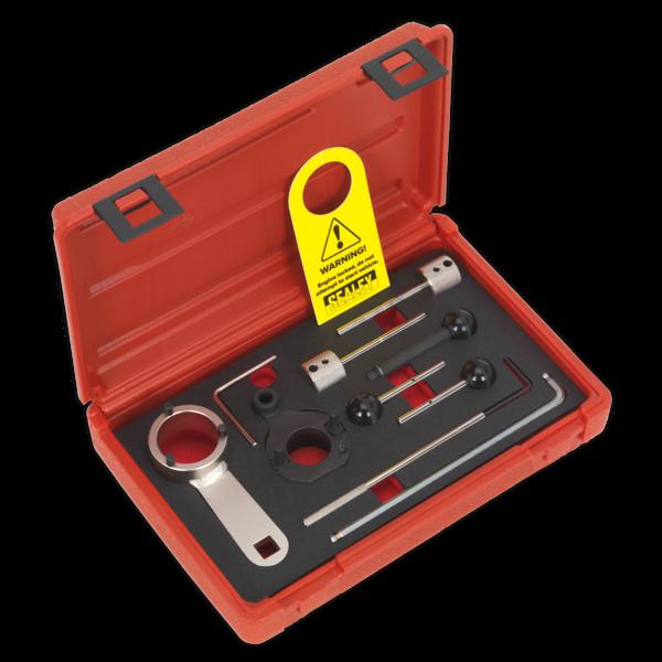 Sealey VSE6281 Diesel Engine Timing Tool Kit - VAG 1.4D, 1.6D, 2.0D Belt Drive Thumbnail 1