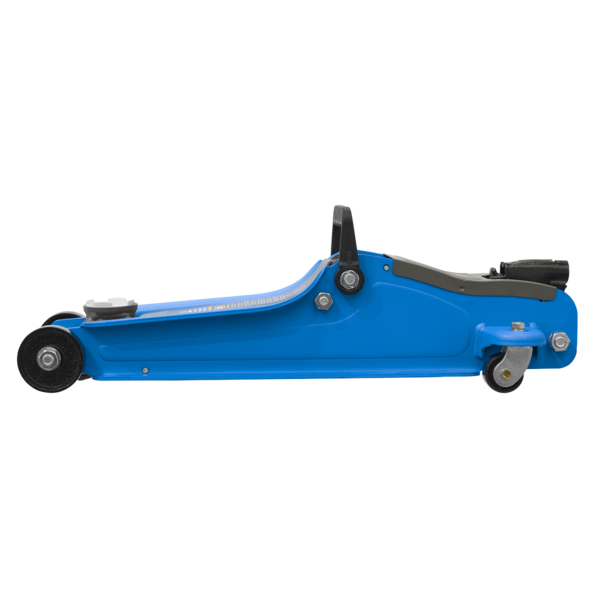 Sealey 1020LEB Trolley Jack 2tonne Low Entry Short Chassis - Blue Thumbnail 2