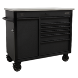 Sealey AP4206BE Mobile Tool Cabinet 1120mm with Power Tool Charging Drawer