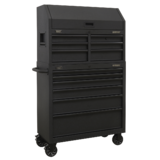 Sealey AP36BESTACK 12 Drawer Tool Chest Combination with Power Bar Topchest