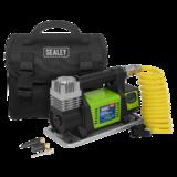 Sealey MAC04D Digital Tyre Inflator/Mini Air Compressor 12V Max Pressure 100psi