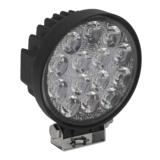 Sealey LED4R Round Work Light with Mounting Bracket 42W LED