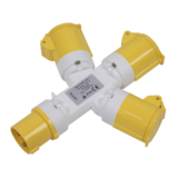 Sealey WSTWA 3-Way Adaptor 110V