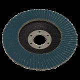 Sealey WZ45120 Zirconium Flap Disc Ø115mm 120Grit - Pack of 10