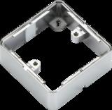 Knightsbridge ML1GSBPC 1G Surface Box - Polished Chrome effect
