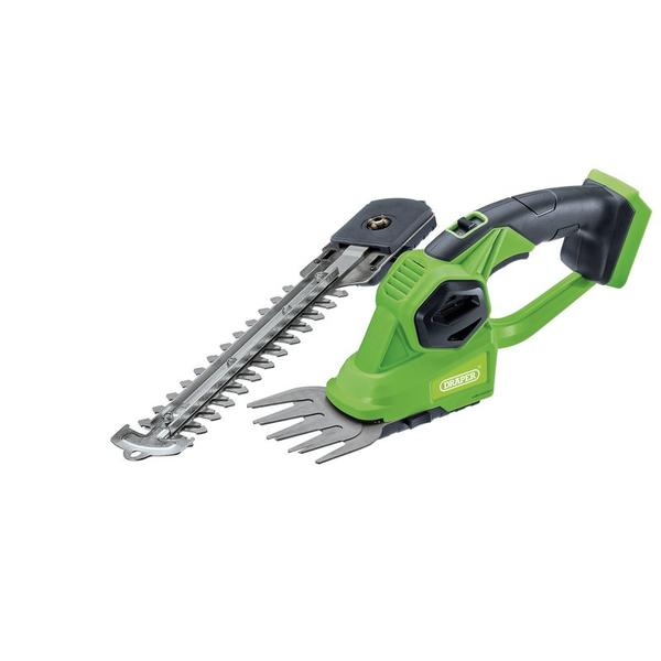 Draper 98505 D20 20V 2-in-1 Grass and Hedge Trimmer ? Bare Thumbnail 1