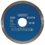 Draper 99778 CONTINUOUS DIAMOND BLADE (110MM)