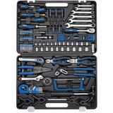 Draper 94988 Tool Kit 138 Piece Cantilever Toolbox Socket Spanner Pliers Hammer