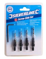 Silverline 792085 4 Piece Screw Sink Set