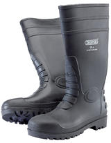 Draper 02698 SWB/C Safety Wellington Boots to S5 - Size 8/42