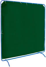 Draper 08170 W678 6' x 6' Welding Curtain with Frame
