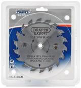 Draper 9461 CSB140P Expert TCT Saw Blade 140X10mmx18T