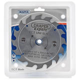 Draper 9465 CSB160P Expert TCT Saw Blade 160X20mmx16T