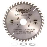 Draper 09473 CSB184P Expert TCT Saw Blade 184mm x 30mm 40T