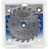 Draper 9474 CSB190P Expert TCT Saw Blade 190X30mmx20T