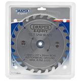 Draper 9476 CSB210P Expert TCT Saw Blade 210X30mmx24T