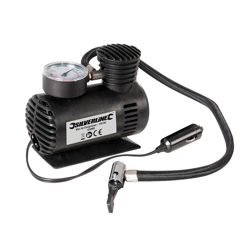 Silverline 425689 Mini Air Compressor Thumbnail 1