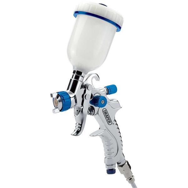 Draper 9708 GSG5-100 100Ml Gravity Feed Hvlp Air Spray Gun Thumbnail 1